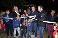 El intendente Fabián Martín inauguró la plaza Madre Tierra en Rivadavia