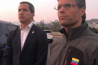 Crisis en Venezuela: militares disidentes liberaron al líder opositor Leopoldo López