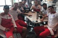 El plantel de Argentinos Juniors regresó de Venezuela