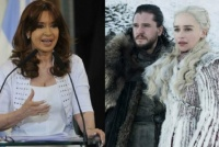 Cristina Kirchner, ¿la spoiler?: el tweet de la senadora que anticipó el final de Game of Thrones