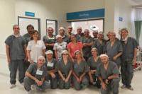 Tras dos años sin quirófano, se reactivaron las cirugías en Barreal