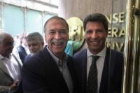 Uñac felicitó a Schiaretti por su reelección en Córdoba
