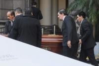 Despidieron los restos de Héctor Olivares en el Congreso de la Nación