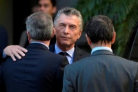 Macri asistió al velatorio de Héctor Olivares