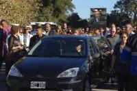 Enterraron al diputado Héctor Olivares en La Rioja