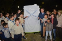 Rivadavia: se inauguró la plaza Madre Universal