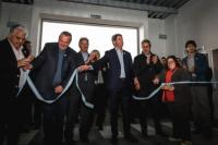 Con la presencia de Uñac se inauguró una fábrica de autopartes