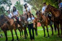 'Las amazonas de mi Jáchal', la agrupación gauchesca de mujeres que integra la Paisana de la Fiesta Nacional de la Tradición