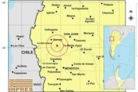 Un temblor de 3.9 interrumpió la tarde sanjuanina