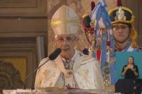 En pleno Tedeum, el arzobispo de Buenos Aires le recordó a Macri el aumento de la pobreza