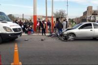 Tres vehículos protagonizaron un choque en cadena en Chimbas