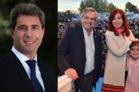 El gobierno nacional no lo ve a Uñac apoyando a Cristina