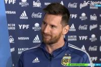 Lionel Messi antes de llegar a San Juan: