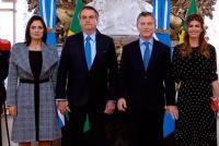 Macri y Bolsonaro ya están reunidos en Casa Rosada