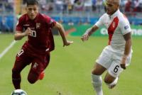 Perú y Venezuela igualaron sin goles