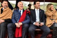 Roberto Lavagna y Juan Manuel Urtubey estrenaron fórmula en un homenaje a Güemes