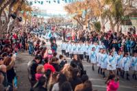 Los alumnos de las escuelas santaluceñas hicieron su promesa a la bandera