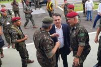 Detienen en España a un militar de la comitiva de Bolsonaro con 39 kilos de cocaína