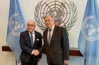 Malvinas: el secretario general de la ONU se comprometió a instar a Gran Bretaña a que negocie la soberanía de las islas con la Argentina