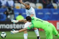 Con gol de Messi, Argentina empató con Uruguay
