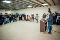 Inauguraron la nueva Unión Vecinal del Barrio Santa Lucía Norte