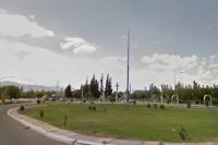 Fuerte choque de dos camionetas en Albardón: un herido