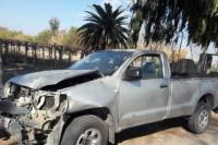 La esquina del peligro: chocaron dos camionetas y es el tercer accidente en tres días