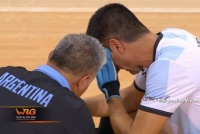 Dolor fraternal: el desconsuelo de los Páez tras la derrota por penales