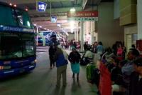 Camionero alcoholizado se estacionó dentro de la terminal de ómnibus