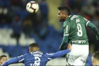 Copa Libertadores: Godoy Cruz igualó con Palmeiras en la ida de octavos