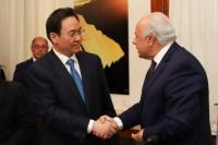 San Juan firmó un memorándum de cooperación con la provincia china de Henan