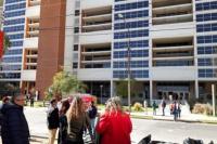 Amenaza de bomba en el Centro Cívico: identificaron el número de la llamada