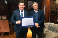 La Municipalidad de Santa Lucía obtuvo certificación de municipio saludable