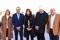 La bienvenida de Sergio Uñac a Cristina Kirchner