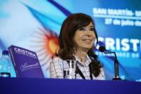 Cristina Fernández habló sobre la deuda: