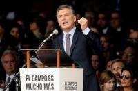 En la inauguración de la Exposición Rural, Macri aclaró que