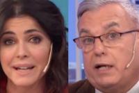 Pasó en vivo: el fulminante reto de Pamela David a su panelista Carlos Monti
