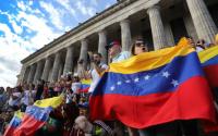 Los venezolanos en Argentina se unen en apoyo al gobierno nacional