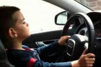 Niño de 8 años le sacó el auto a su mamá y salió a manejar a una autopista