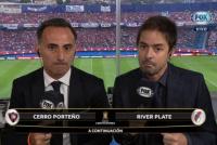 El insólito momento en el que Mariano Closs se quedó sin voz mientras relataba Cerro Porteño - River