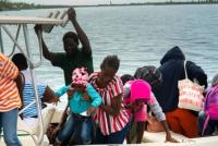 Dorian toca las Bahamas con la potencia de un huracán de categoría 5