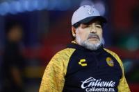 Diego Maradona es el nuevo director técnico de Gimnasia de La Plata