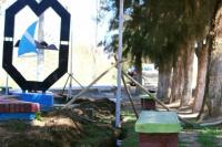 El municipio de Ullum inició la obra de remodelación en la plazoleta Vicente Grimalt