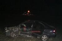 Albardón: dos automovilistas chocaron en una de las curvas de la RN40