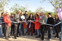 Rawson: inauguraron un playón deportivo en el barrio Siete Colores II