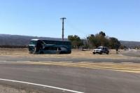 Caucete: una anciana falleció dentro de un colectivo de larga distancia