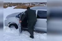 Quedaron varados en una ruta de Neuquén y murieron congelados