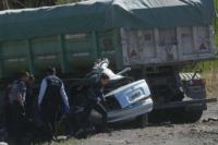 Mendoza: cinco personas murieron al chocar contra un camión que venía a San Juan