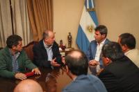 Sergio Uñac se reunió con Hugo Yasky, uno de los referentes del sindicalismo a nivel nacional