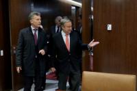 Mauricio Macri ya está en Nueva York para participar de la Asamblea General de la ONU